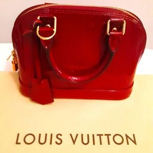 Louis Vuitton vernis Alma